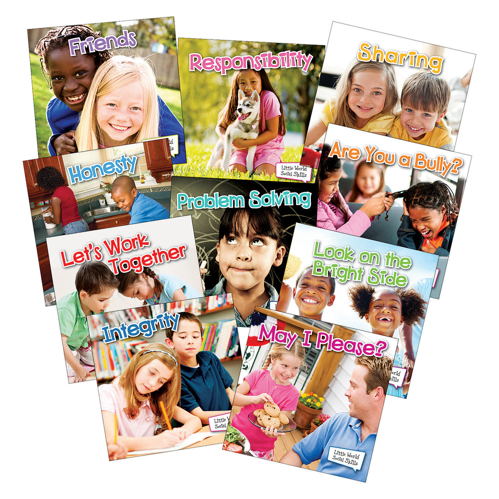 Little World Social Skills 10 Book Set
