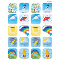 (12 Pk) Stickers Weather
