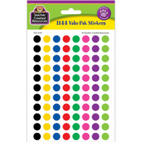 Colorful Circles Mini Stickers Value Pack