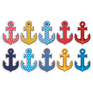(3 Pk) Anchors Accents