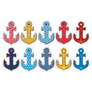 (6 Pk) Anchors Accents