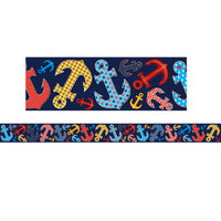 (6 Pk) Anchors Straight Border Trim