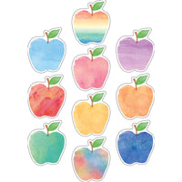 (3 Pk) Watercolor Apples Accents