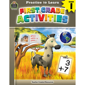 (6 Ea) Practice To Learn Gr 1 Activities