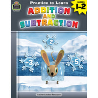 (6 Ea) Practice To Learn Add And Subtract Gr 1-2
