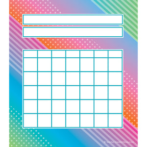 (6 Ea) Colorful Vibes Incentive Charts