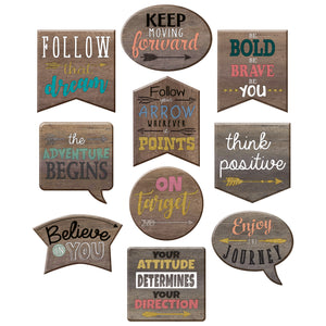 (3 Pk) Positive Sayings Accents Home Sweet Classroom