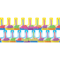 (3 Pk) Birthday Cupcake Crowns 36 Per Pk
