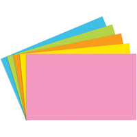 Index Cards 3x5 Blank 100 Ct Brite Assorted