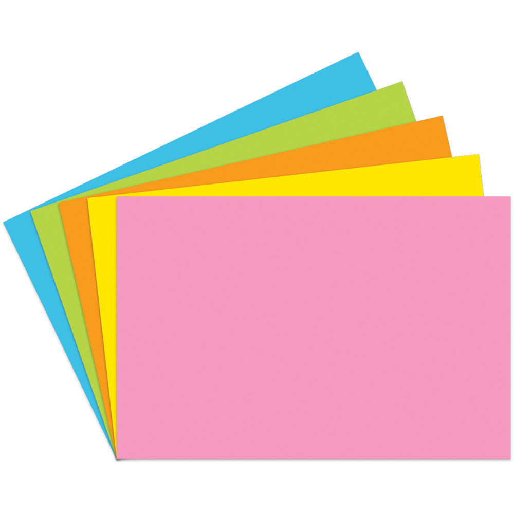 Index Cards 4x6 Blank 100 Ct Brite Assorted