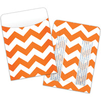 Chevron Peel & Stick Pockets 25ct