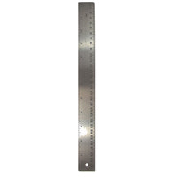 Stainless Steel 12in Ruler