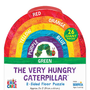 The Vry Hungry Ctrpllr Floor Puzzle The World Of Eric Carle