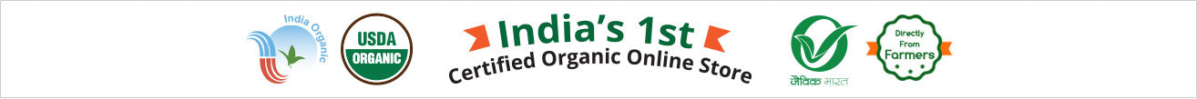 India's First Certified Organic Online Store Orgpick Banner