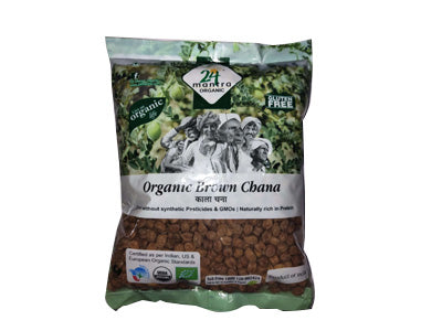 Organic Whole Brown Chana (24 Mantra)