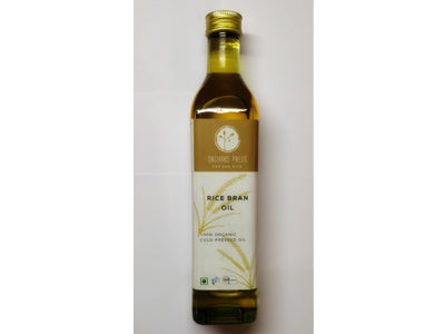 Buy Best Quality Healthy Organic Cold-Pressed Rice Bran Oil Online At Orgpick