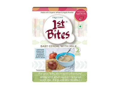 Organic 1st Bites - Wheat & Apple Powder (Pristine)