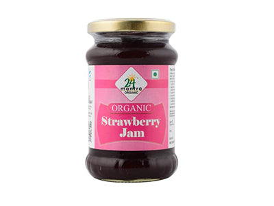 Buy Organic Strawberry Jam Online At Orgpick