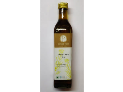 Buy Best Quality Healthy Organic Cold-Pressed Mustard Oil Online At Orgpick
