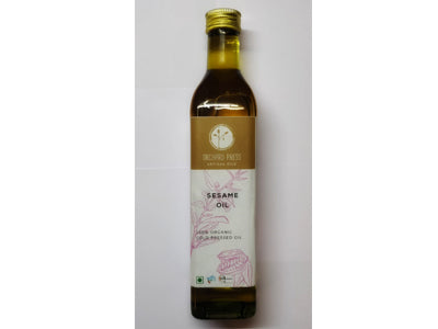 Buy Best Quality Healthy Organic Cold-Pressed Sesame Oil Online At Orgpick