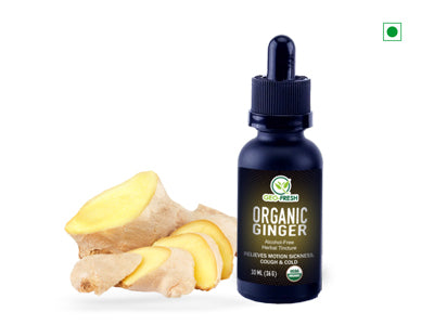 Organic Ginger Tincture (Geo-Fresh)