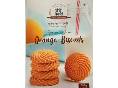 Orange Biscuits (Chande Bakers)