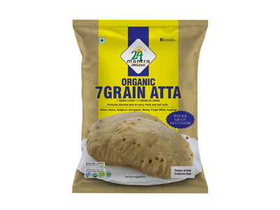 Buy Organic 7 Grain Atta Online At Orgpick