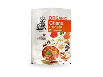 Buy Pure & Sure Organic Chana Masala Online,100gm-Orgpick