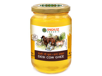 Buy Induz Organic Desi Cow Ghee Online At Orgpick
