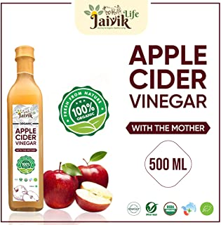 Buy Jaiviklife Organic Apple Cider Vinegar (ACV),500ml