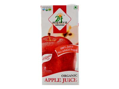 Certified Organic Apple Juice Online By 24Mantra on Orgpick.com