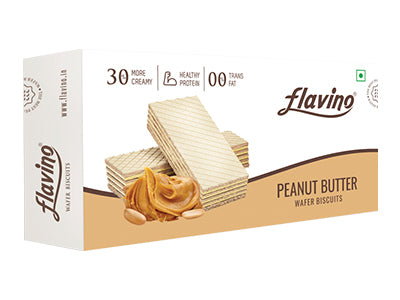 Peanut Butter Wafer Biscuit (Flavino)