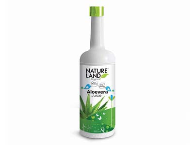 Organic Aloevera Juice (Nature-Land)