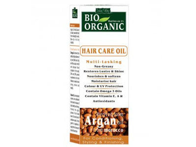 Buy Organic Argan Hair Oil Serum (Indus Valley) -Orgpick.com