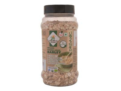Healthy Certified Organic BARLEY FLAKES by 24Mantra - Orgpick.com