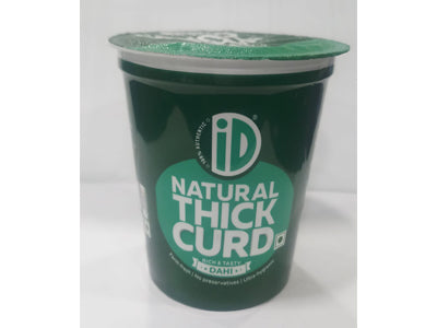Order iD Fresh Natural Thick Curd Online at Orgpick