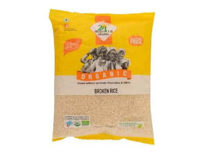 Certified Organic BROKEN RICE  by 24Mantra-Orgpick.com