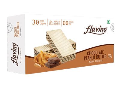 Chocolate Peanut Butter-Wafer Biscuit (Flavino)