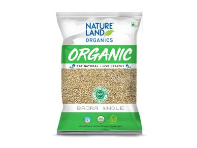 Organic Bajra Whole (Natures land)