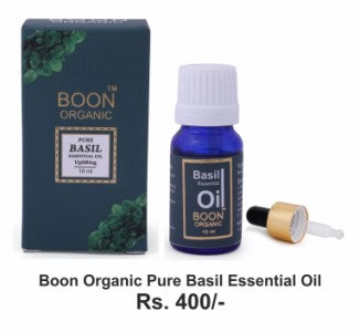 Buy Organic Pure Basil Essential Oil -Orgpick.com