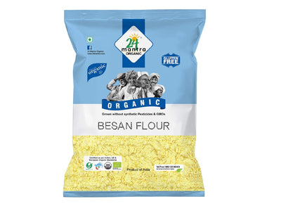 Buy 24 Mantra Organic Besan Online At Orgpick