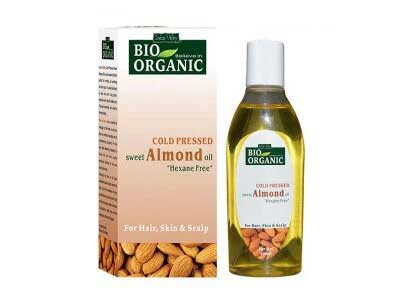 Bio Organic Cold Pressed Sweet Almond Oil (Indus valley)