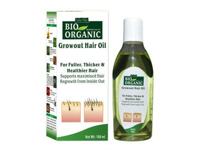 Organic Growout Hair Oil for Hair Growth (Indus Valley ) -Orgpick.com