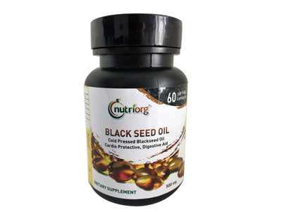 Shop Black Seed Oil Soft Gel Capsule Online