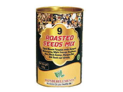 Buy Natural 9 Roasted Seeds Mix online at Orgpick