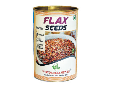Buy Natural Flax Seeds-Roasted online at Orgpick