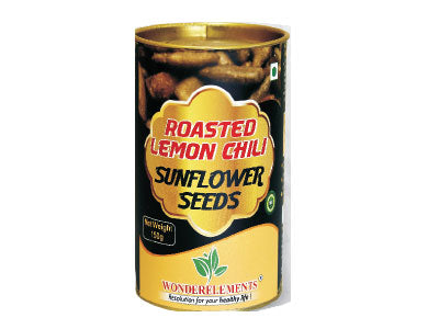 Buy Natural Roasted Lemon Chili Sunflower Seeds online at Orgpick
