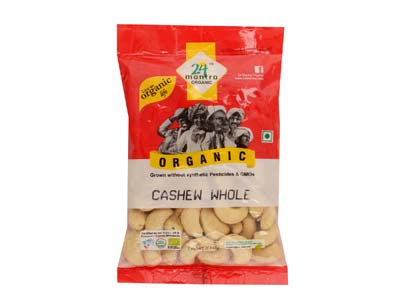 Buy 24 Mantra Organic Cashew Whole Online At Orgpick