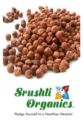 Buy Srushti Organics Chana Whole Online at Orgpick