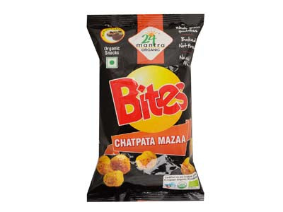 Certified Organic CHATPAT MAZAA BITES online at Orgpick.com by 24Mantra